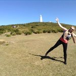 caela at bruny lighthouse
