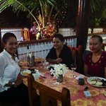 Dining at Portwine Guesthouse, Vava'u, Tonga
