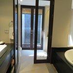 Bathroom in a villa (including outdoor shower)