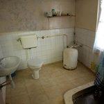 Women's private bathroom