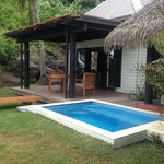 Villa patio and plunge pool