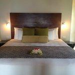 Bed in a Villa