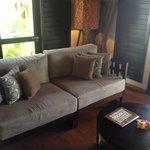 Living Area in villas