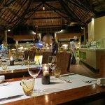 Una sala del Legend Restaurant