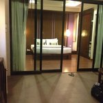 Sunset villa bedroom