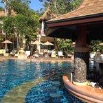 Main swimming and pool bar