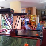 Kids games room