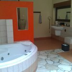 our big spa bathroom
