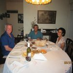 Last Dinner with Shirani and Raja