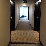 Corridor, 8th floor.