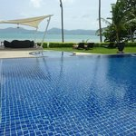 cool pool area