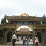 Entrance to Truc Lam Pagoda