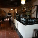 bar and indoor restaurant