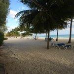 Nice Beach with Bar Service