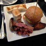 Un exemple d'assiette à partir du buffet