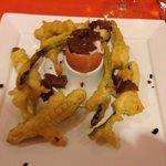 Uovo tartufo e asparagi