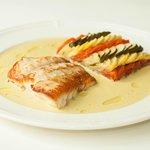 Gulf Coast Grouper, w/ Bayaldi and Sauce Vadouvan