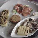 Antipasto degustazione: misto di pesce di lago