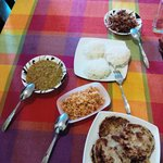 lavish breakfast spread