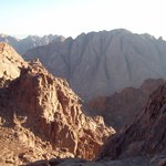 Panoramic view from Mt. Sinai