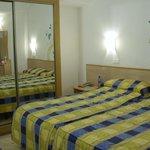 Room 1210 on top floor of hotel