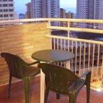 Room 1210 balcony