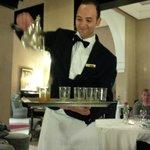 Ali, the best waiter!