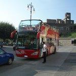 Bus at Piazzetta Santa Croce (Termini)