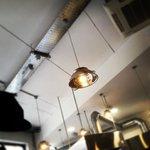 Colander lamp shade