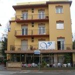 """Отель """"Вилла Итала"""" находится в районе Марина Чентро курорта Римини"""