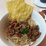 Bakmi Noodle with Foie Gras