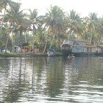 backwater as road in kerala