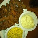 4 piece Fried Chicken Dinner
