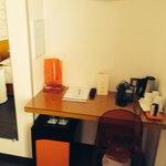 Desk/mini bar