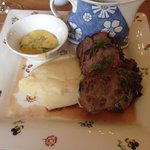 Lamb with masy instead of Lyonnaise