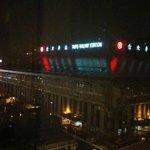 夜の台北駅