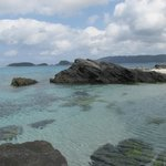 Rocks at end of Furuzamami beach