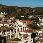 View of Taxco from terrace