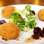 goats cheese and thyme croquettes