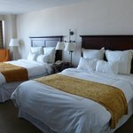 Deluxe room, 2 queensize beds (full falls view)