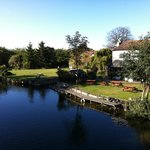 Our beautiful riverside setting on the South Bank of the RIver Little Ouse