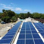 A look at the beach and the new solar energy system @ CBR