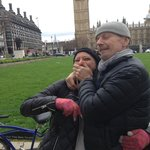 A curious Swedish way of showing affection on a London bike tour