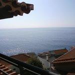 Traumhafter Blick vom Balkon