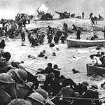 Dunkirk 1940 where Silver Queen helped to rescue hundreds of allied soldiers