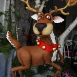 Remy the Reindeer - 3D Cake standing on ONE leg!
