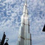 Burj Khalifa (àrea circundante ao hotel)