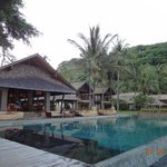Pool & Restaurant - morning view