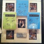 FRIENDS signed memorabilia
