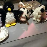 Pingu, Daisy  and Gromit
